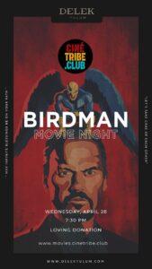 01 Birdman Cine tribe tulum
