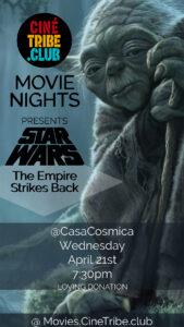 Cine Tribe Movie Night at Cosmica