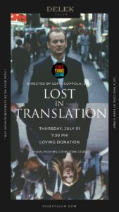 Cine Tribe Delek Lost in Translation